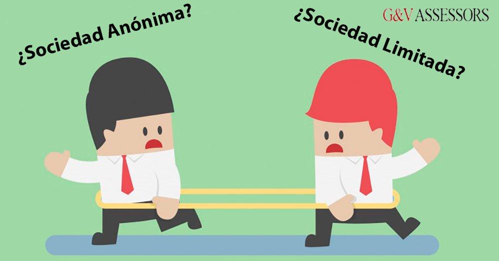 Características que diferencian una sociedad anónima SA de una sociedad limitada SL